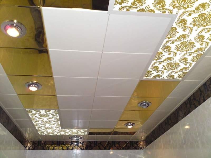 Сведения о кассетных металлических потолках