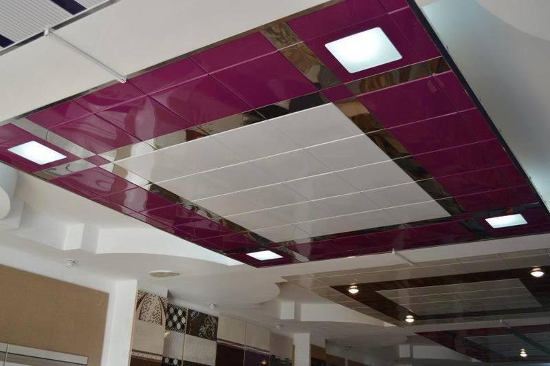 Стоимость навесного потолка