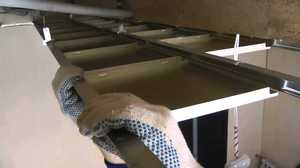 Преимущества кассетных металлических потолков