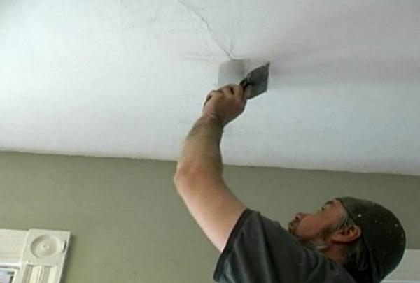 как смыть побелку с потолка фото 2
