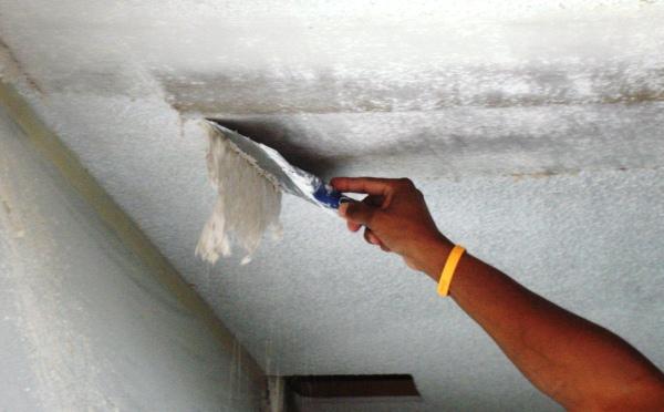 как смыть побелку с потолка фото 3