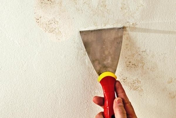 как убрать пятна на потолке фото 2