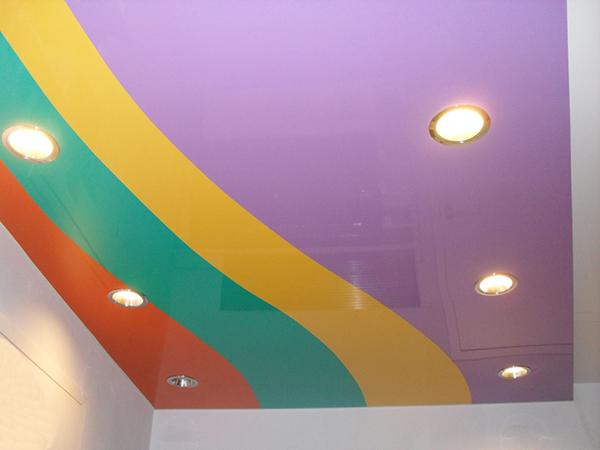 как мыть натяжной потолок фото 2