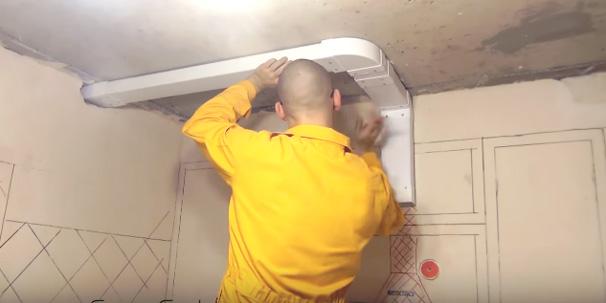 Вентиляция в натяжном потолке фото 4
