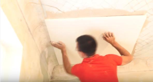 как утеплить бетонный потолок фото 3