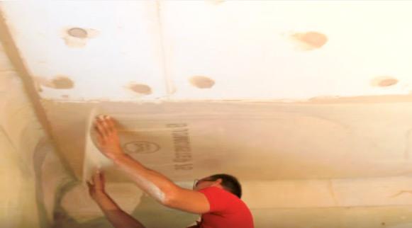 как утеплить бетонный потолок фото 5