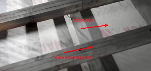пароизоляция потолка фото 4
