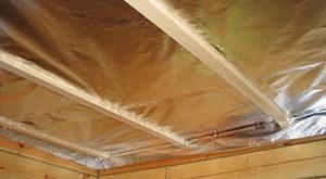 пароизоляция потолка фото 6