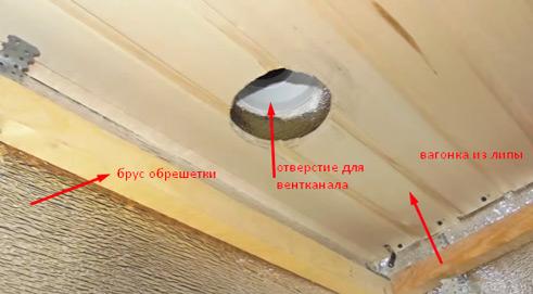 пароизоляция потолка в бане фото 2