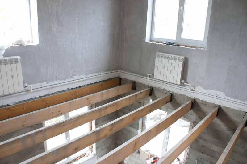 Шумоизоляция потолка в доме с деревянными перекрытиями фото 6