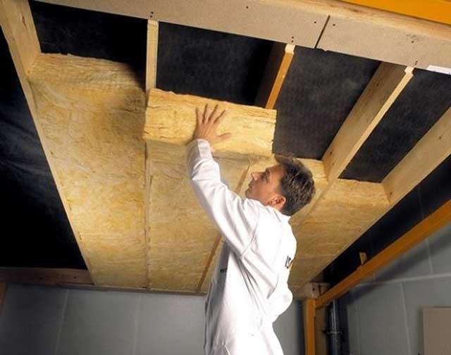 Шумоизоляция потолка в доме с деревянными перекрытиями фото 7