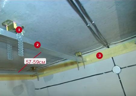 шумоизоляция потолка в квартире под натяжной потолок фото 12