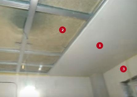 шумоизоляция потолка в квартире под натяжной потолок фото 13