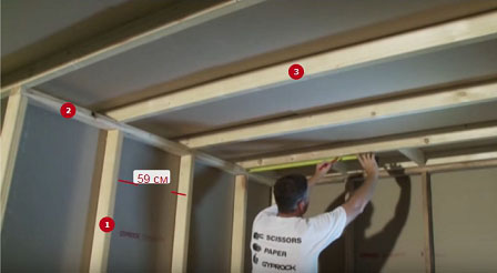 шумоизоляция потолка в квартире под натяжной потолок фото 14