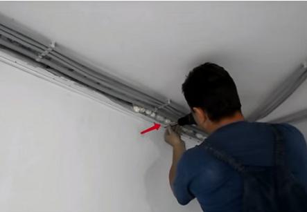 шумоизоляция потолка в квартире под натяжной потолок фото 6