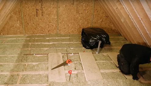 утепление потолка в деревянном доме фото 7