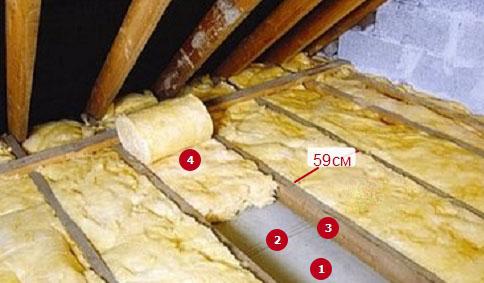 утеплить потолок в частном доме фото 5