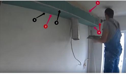 как шпаклевать потолок из гипсокартона фото 6