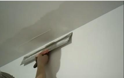 выравнивание потолка шпаклевкой фото 6