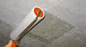 грунтовка для потолка под шпаклевку