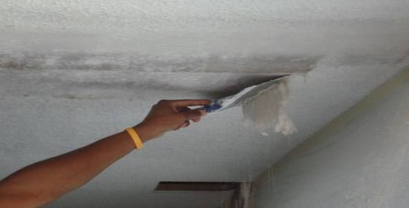 ремонт потолка после протечки своими руками фото 1