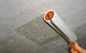 Шпаклевка потолка фото 1