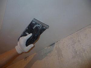 Шпаклевка потолка фото 4
