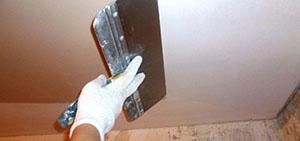 Шпаклевка потолка фото 5