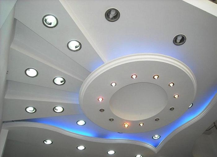 Ремонт гипсокартонного потолка фото 1