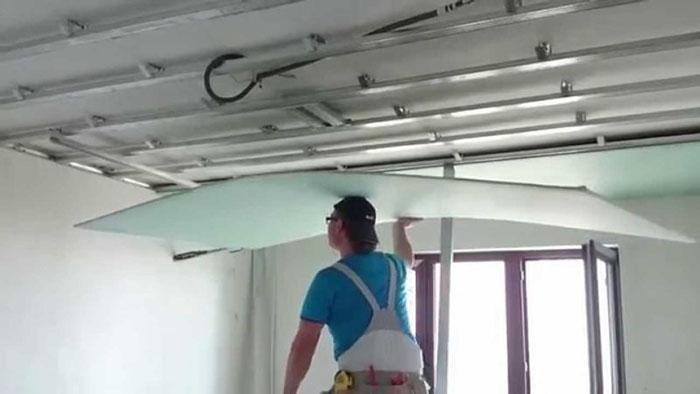 Ремонт гипсокартонного потолка фото 4