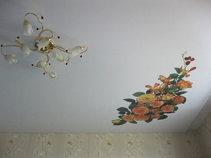 Ремонт натяжных потолков фото 2
