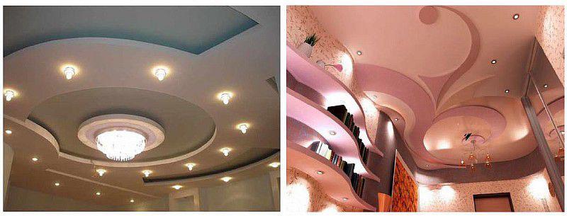 ремонт подвесных потолков фото 2