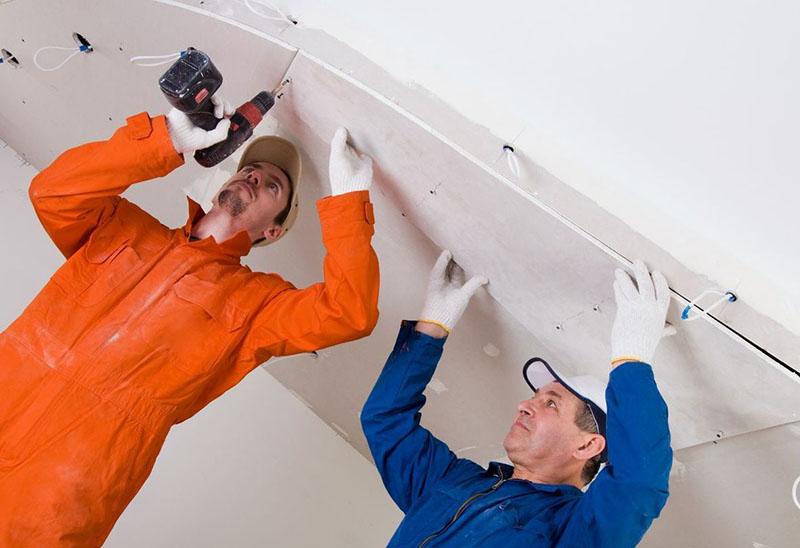ремонт подвесных потолков фото 3