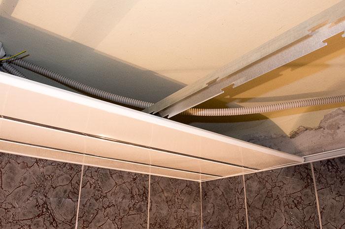 ремонт подвесных потолков фото 7
