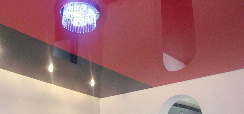Бесшовные натяжные потолки фото 8