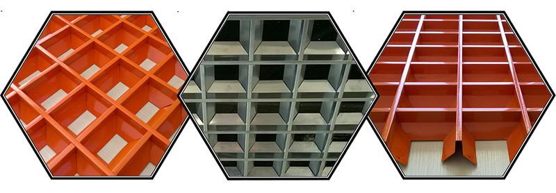 потолок Грильято фото 3